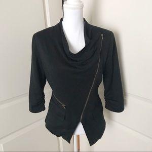 ARYN K. Acrylic Black Blazer Jacket SZ SMALL